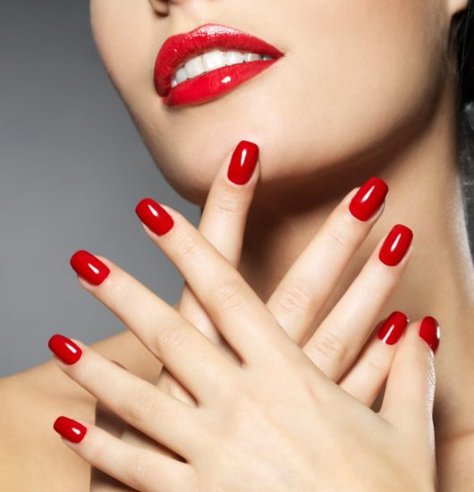 red nails nagels verf verven