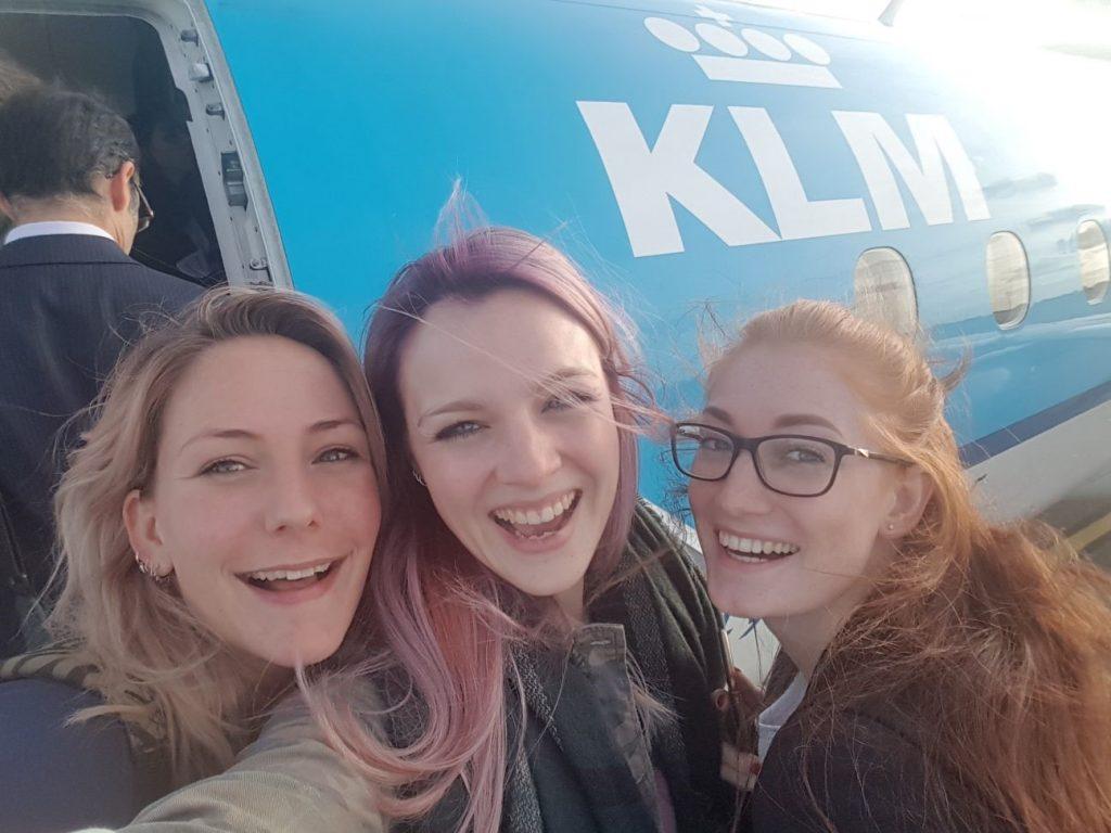 ilze in london reis KLM